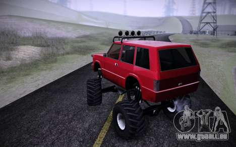 Huntley Monster v3.0 für GTA San Andreas linke Ansicht