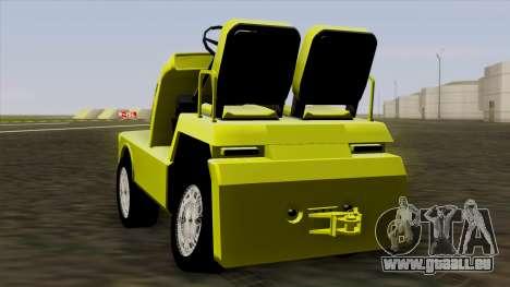 GTA 4 Airtug HQS pour GTA San Andreas vue de droite