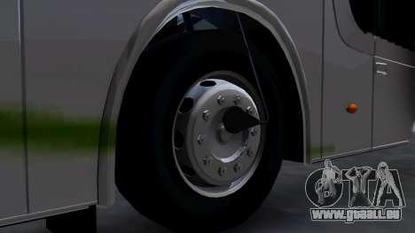 Busscar Elegance 360 pour GTA San Andreas sur la vue arrière gauche