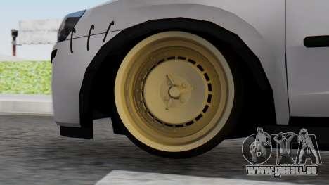 Opel Corsa Air pour GTA San Andreas sur la vue arrière gauche