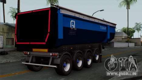 Trailer Tohap für GTA San Andreas linke Ansicht