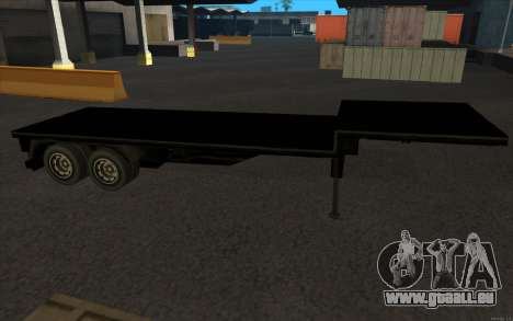 Flat Trailer für GTA San Andreas