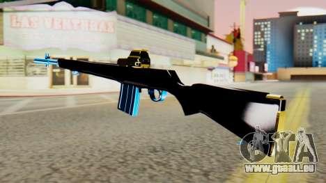 Fulmicotone Rifle pour GTA San Andreas deuxième écran