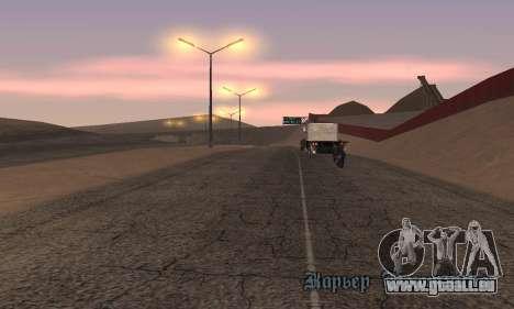 Les lumières de San Fierro, Las Venturas pour GTA San Andreas troisième écran