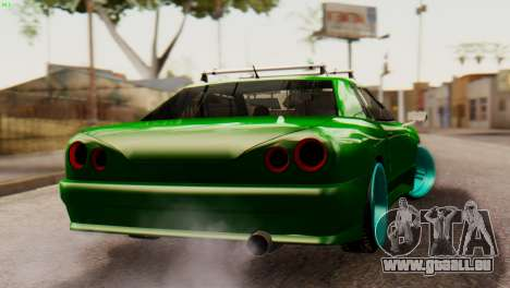 Elegy Korch New Wheel pour GTA San Andreas laissé vue