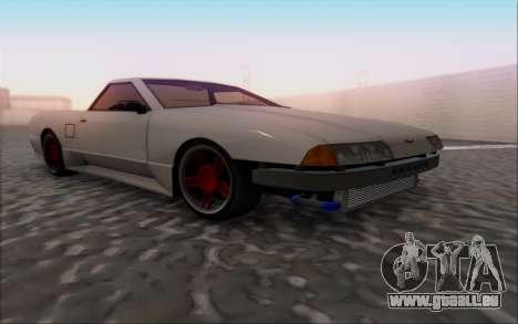 Elegy Pickup By Next für GTA San Andreas rechten Ansicht