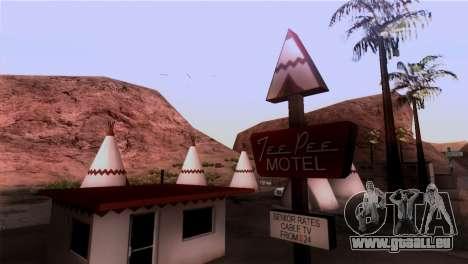 Le Sherman Barrage pour GTA San Andreas deuxième écran