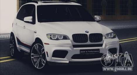 BMW X5M MPerformance Packet für GTA San Andreas
