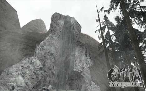 Cascade v0.1 Beta pour GTA San Andreas troisième écran