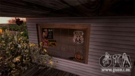 Le Sherman Barrage pour GTA San Andreas quatrième écran