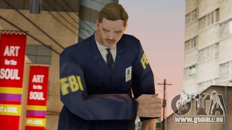 FBI Skin pour GTA San Andreas