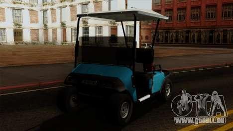 E-Z-GO Golf Cart v1.1 pour GTA San Andreas