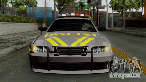 Indonesian Police Type 1 für GTA San Andreas obere Ansicht