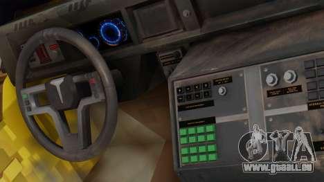 SOC-T from CoD Black Ops 2 pour GTA San Andreas sur la vue arrière gauche