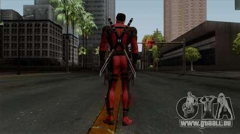Deadpool without Mask pour GTA San Andreas troisième écran