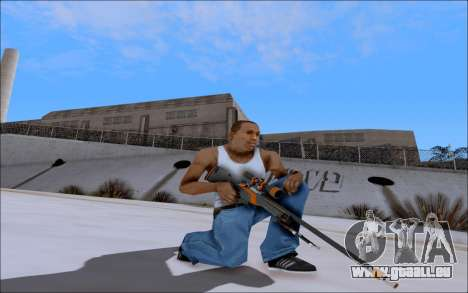 AWP Carbone Edition pour GTA San Andreas deuxième écran