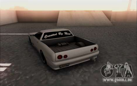 Elegy Pickup By Next für GTA San Andreas zurück linke Ansicht