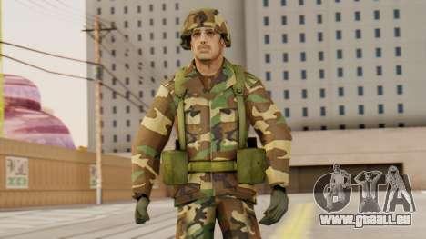Les soldats de l'armée AMÉRICAINE pour GTA San Andreas