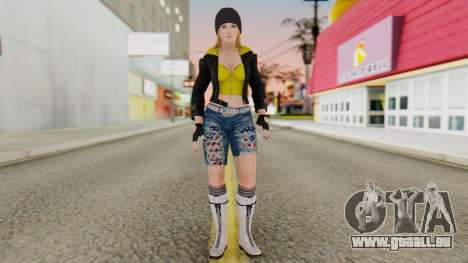 Dancing Girl für GTA San Andreas zweiten Screenshot