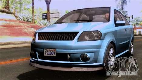 GTA 5 Declasse Asea IVF für GTA San Andreas