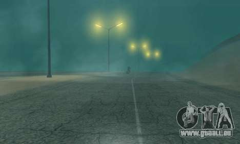 Les lumières de San Fierro, Las Venturas pour GTA San Andreas deuxième écran