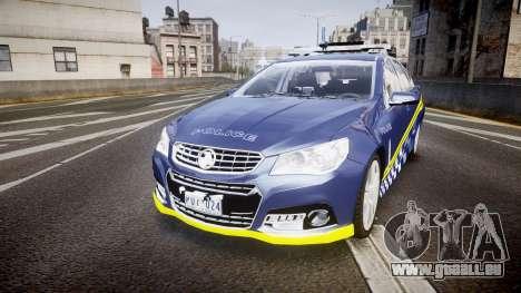 Holden VF Commodore SS Highway Patrol [ELS] v2.0 für GTA 4