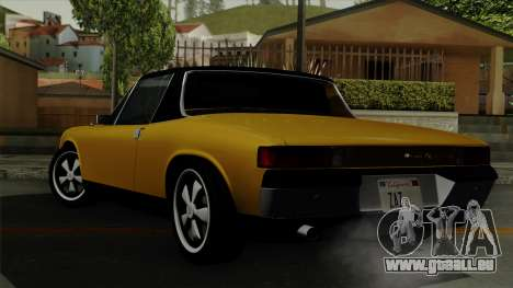 Porsche 914 1970 pour GTA San Andreas laissé vue