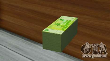 3000 Roubles pour GTA San Andreas