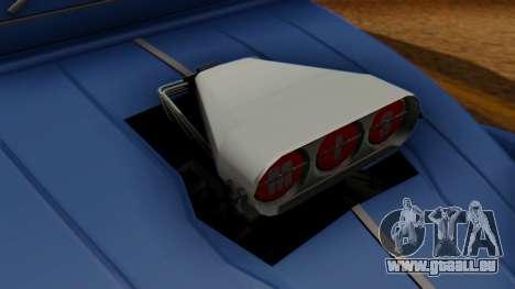 Citroen 2CV (jian) Drag Style Edition pour GTA San Andreas vue de droite