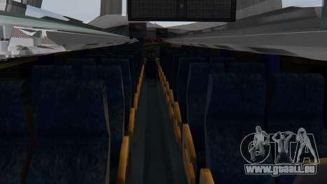 Busscar Elegance 360 pour GTA San Andreas vue arrière