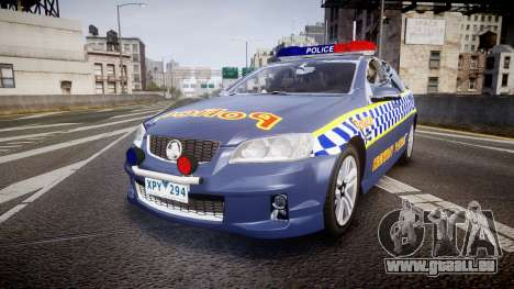 Holden VE Commodore SS Highway Patrol [ELS] v2.1 pour GTA 4