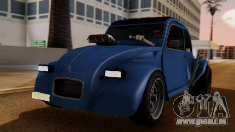Citroen 2CV (jian) Drag Style Edition für GTA San Andreas
