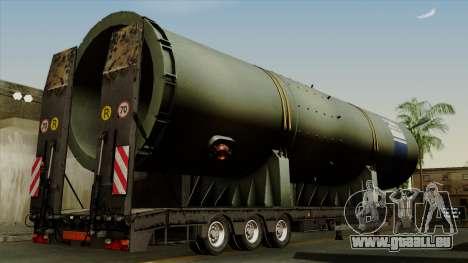 Trailer Cargos ETS2 New v3 pour GTA San Andreas laissé vue