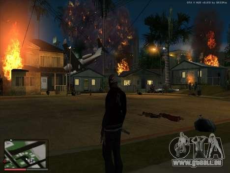La folie dans l'état de San Andreas. La bêta. pour GTA San Andreas quatrième écran