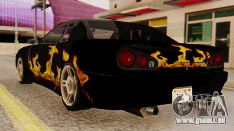 Vinyl für Elegie - die Flamme für GTA San Andreas linke Ansicht