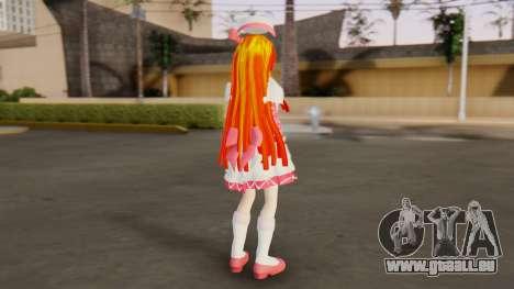 Nadja [Ashita no Nadja] pour GTA San Andreas troisième écran