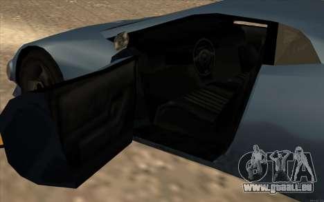 GTA 3 Infernus SA Style v2 pour GTA San Andreas vue intérieure