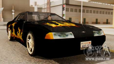 Vinyle pour Elegy - la Flamme pour GTA San Andreas