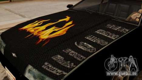 Vinyle pour Elegy - la Flamme pour GTA San Andreas vue de droite