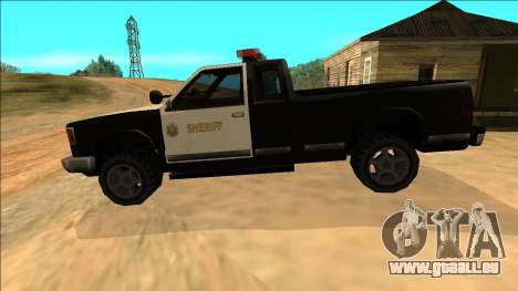 New Yosemite Police v2 für GTA San Andreas Innen