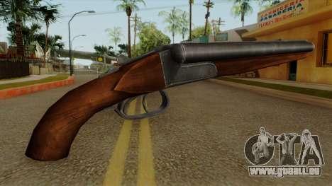 Original HD Sawnoff Shotgun pour GTA San Andreas deuxième écran