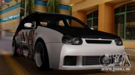 Volkswagen Golf R32 JDM Itasha für GTA San Andreas