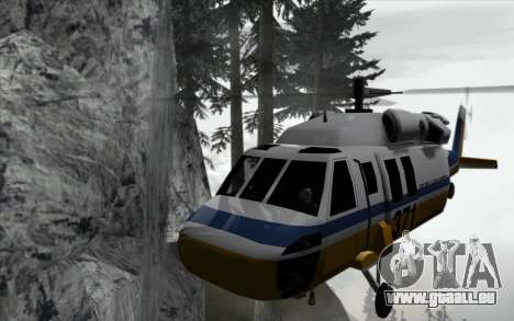 Cascade v0.1 Beta pour GTA San Andreas quatrième écran