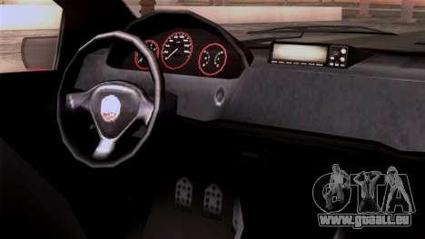 GTA 5 Declasse Asea für GTA San Andreas rechten Ansicht