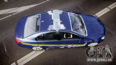 Holden VF Commodore SS Highway Patrol [ELS] v2.0 für GTA 4 rechte Ansicht