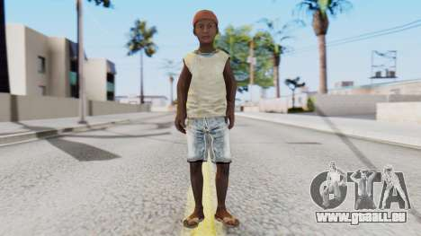 African Child pour GTA San Andreas deuxième écran