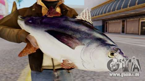 Tuna Fish Weapon für GTA San Andreas dritten Screenshot