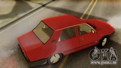 Dacia 1310 Berlina v2 pour GTA San Andreas laissé vue