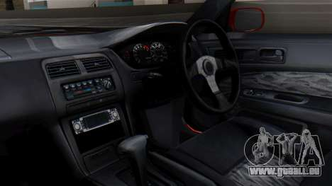Nissan Silvia S14 (240SX) Fast and Furious pour GTA San Andreas vue de droite