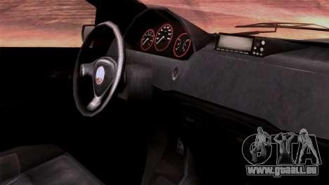 GTA 5 Declasse Asea IVF pour GTA San Andreas vue de droite